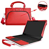 Razer Blade Stealth Case,2 in 1 Accurately Designed Protective PU Leather Cover + Portable Carrying Bag for Razer Blade Stealth 12.5 & 13.3 inch Series Gaming Laptop,Red (Color: Red, Tamaño: Razer Blade Stealth)