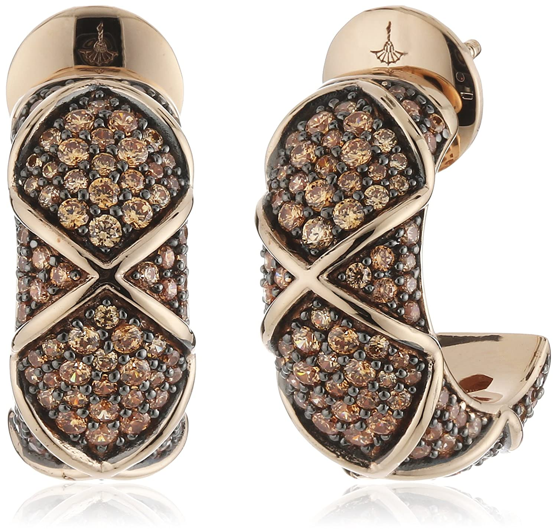 Joop Damen-Creolen 925 Sterling Silber Zirkonia Mosaics rosa JPER90306C000 jetzt kaufen