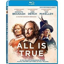 All Is True [Blu-ray]