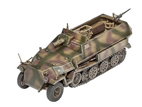 Revell - 3177 - Maquette Classique à Peindre et à Coller - Sd.Kfz. 251/9 Ausf. C