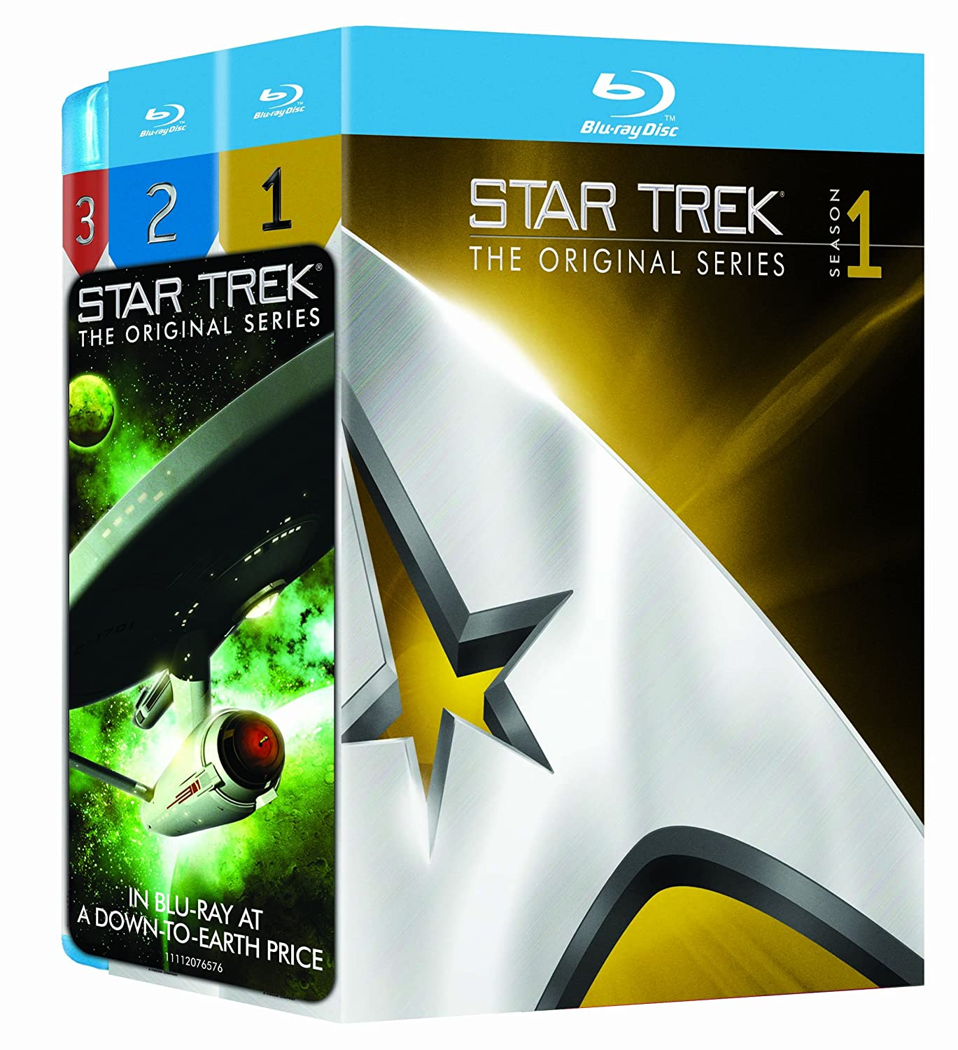Save up to 66% on Star Trek Collections on DVD and Blu-ray