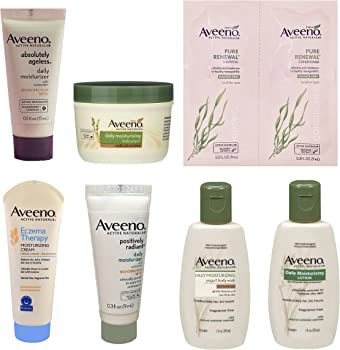Aveeno Sample Box + $7.99 Amazon Credit