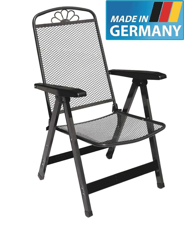 mfg klappsessel blume aus streckmetall made in germany. Black Bedroom Furniture Sets. Home Design Ideas
