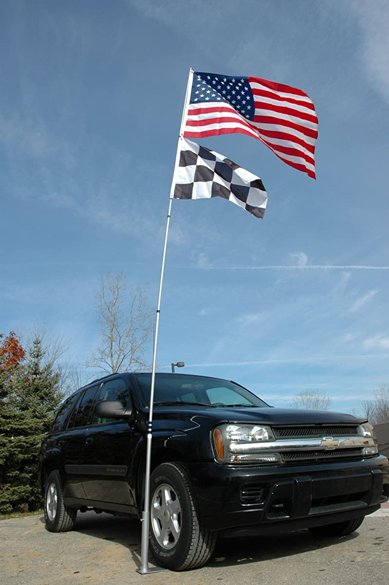 Flagpole-To-Go Ultimate Tailgaters Package with 20 Portable Flagpole