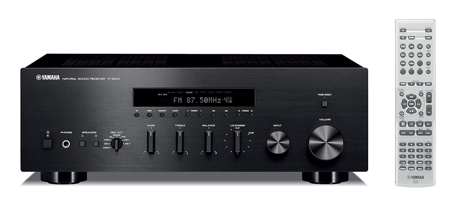 Yamaha R-S500 Stereo Receiver (Apple iPhone/iPod/Bluetooth