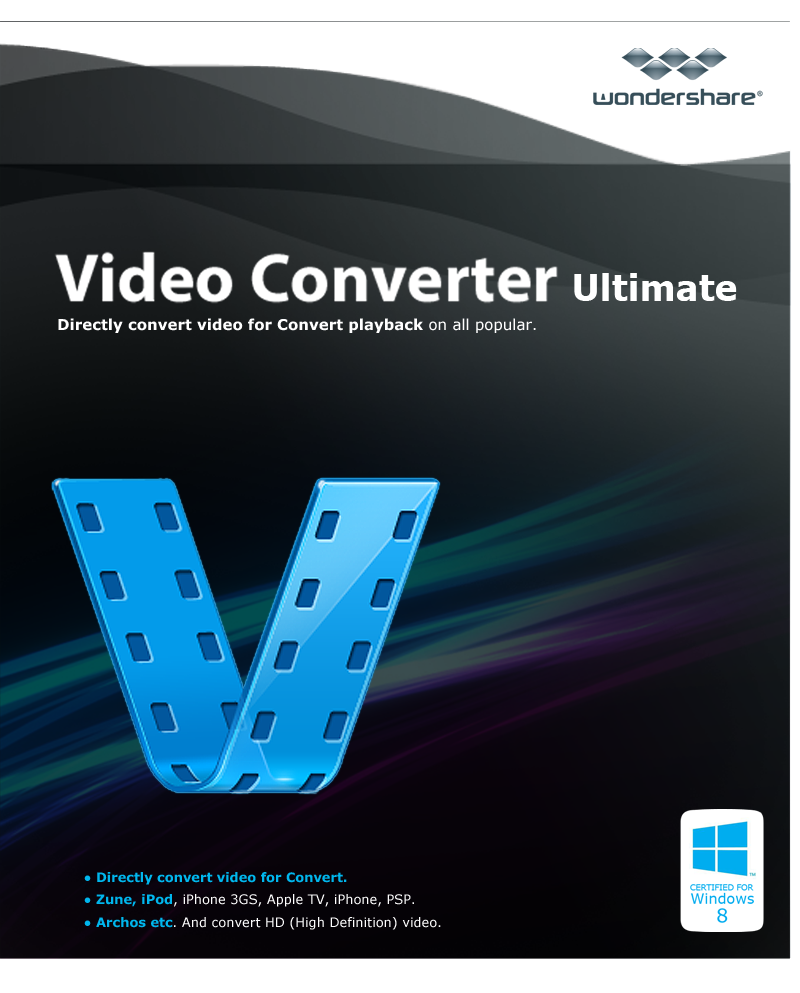 Wondershare Video Converter Ultimate [Download] (Video Converter Program compare prices)