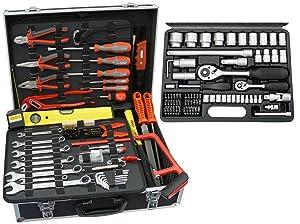Famex 75250 Universal Werkzeugkoffer mit Steckschlüsselsatz  BaumarktRezension