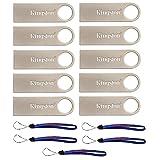 Kingston (TM) Digital DataTraveler SE9 16GB USB 2.0 (DTSE9H/16GB) 16GB (10 pack) Flash Drive Pen Drive - w/ (5) Everything But Stromboli (TM) Lanyards