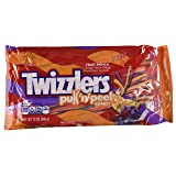 Twizzlers Twist Pullnpeel Fruit Punch Candy, 12 Oz Bag, (Pack of 2), Grape, Cherry, Orange Flavors (Color: Multi, Tamaño: 12 ounce package)