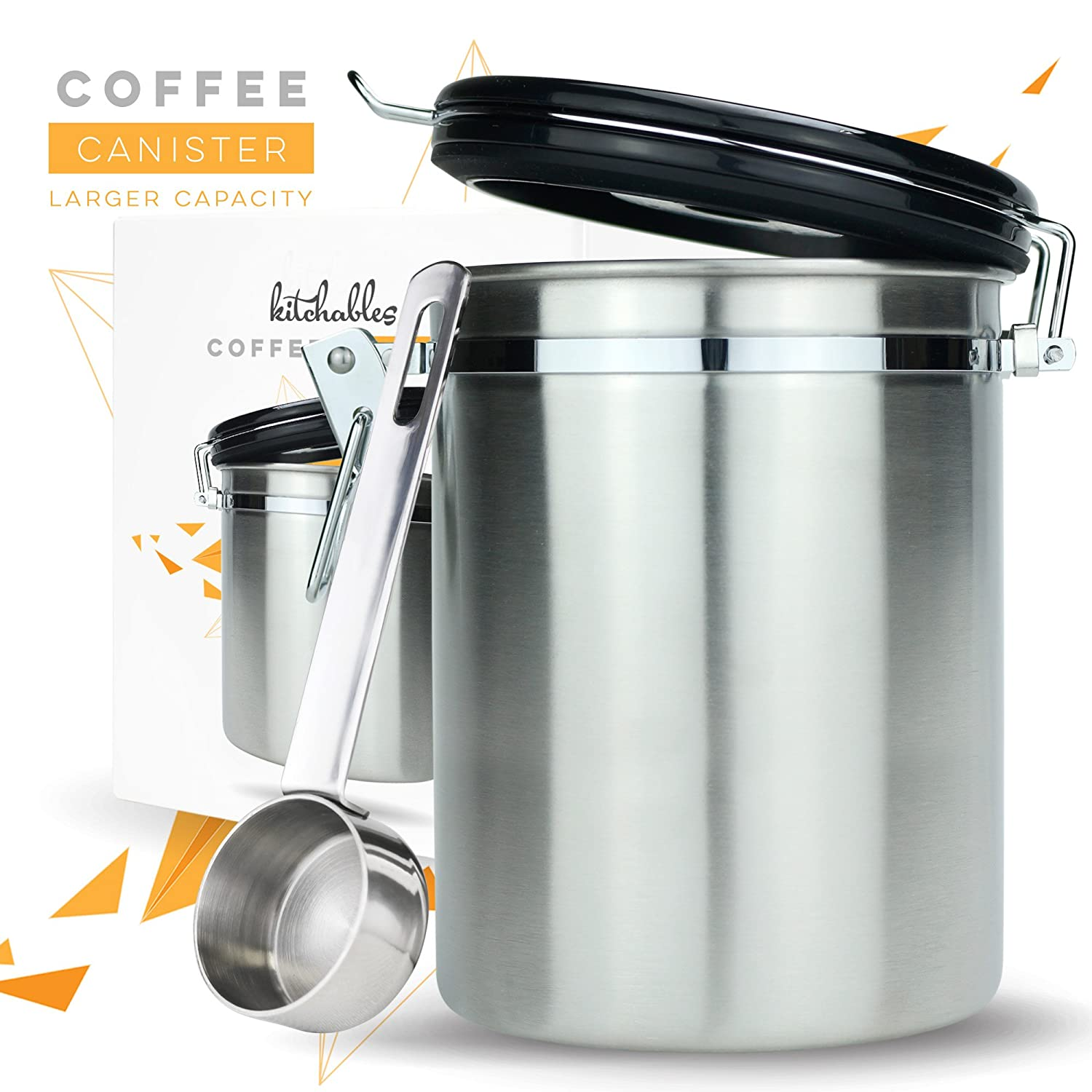 Best Pick#3: Kitchables Large Coffee Canister