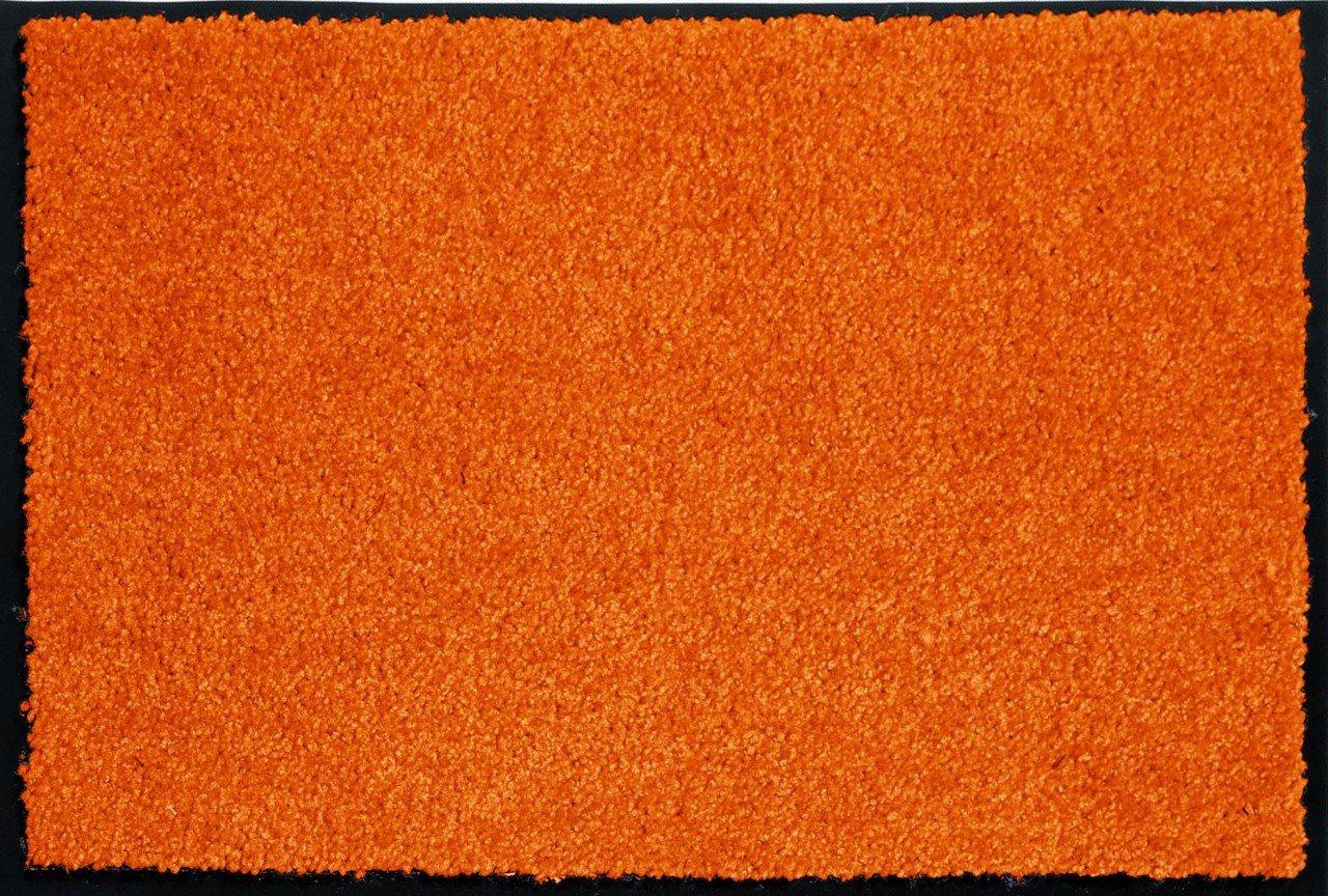 Fußmatte Sauberlauf Proper Tex Uni Orange in 5 Größen   Kundenbewertung und Beschreibung