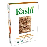 Kashi, Breakfast Cereal, Organic Autumn Wheat, Non-GMO Project Verified, 16.3 oz(Pack of 4) (Tamaño: 16.3-Ounce (Pack of 4))