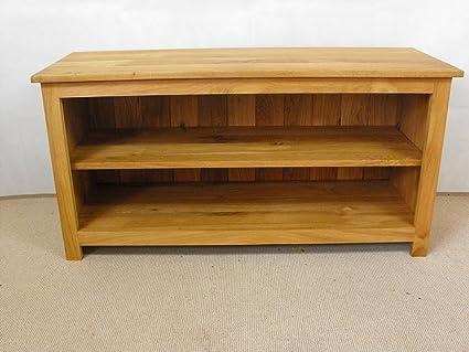 Mueble para televisor con cajón de roble, armario de pie y 1000 x 550 mm 1 estante ajustable, ideal mesa baja para Wondrous Wall