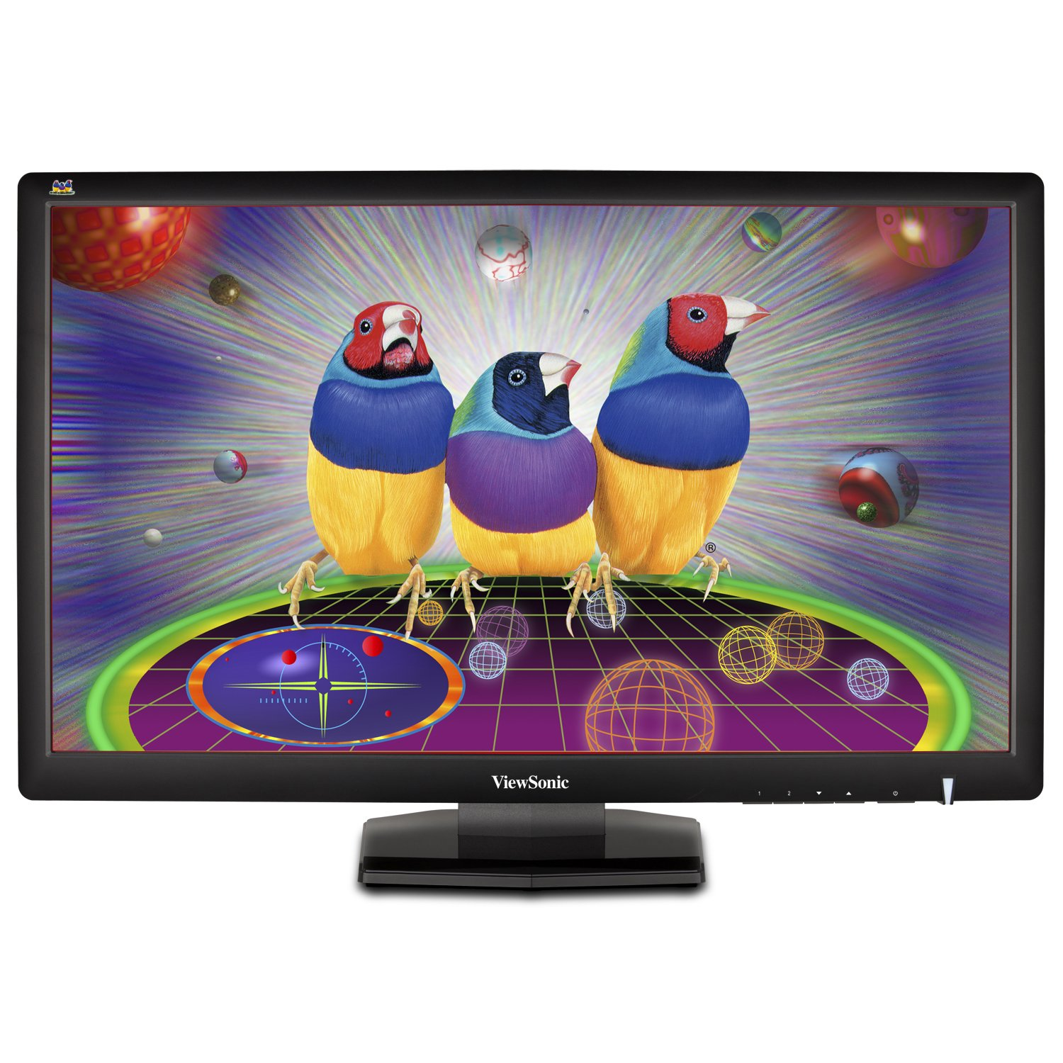 ViewSonic VX2703MH-LED 27-Inch LED-Lit LCD Monitor, Full HD 1080p, 3ms, HDMI/DVI/VGA, Speakers, VESA
