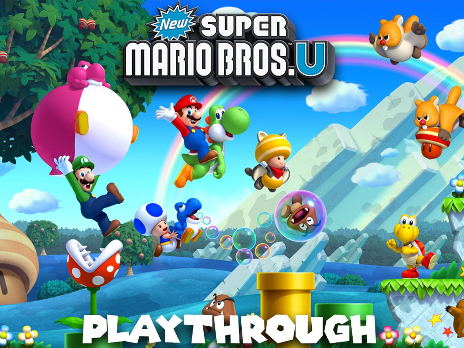 Clip: New Super Mario Bros. U Playthrough