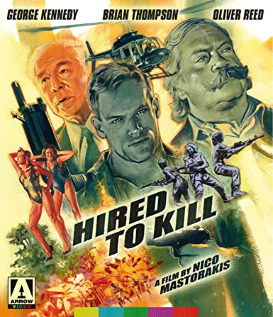 Hired To Kill (2-Disc Special Edition) [Blu-ray + DVD]