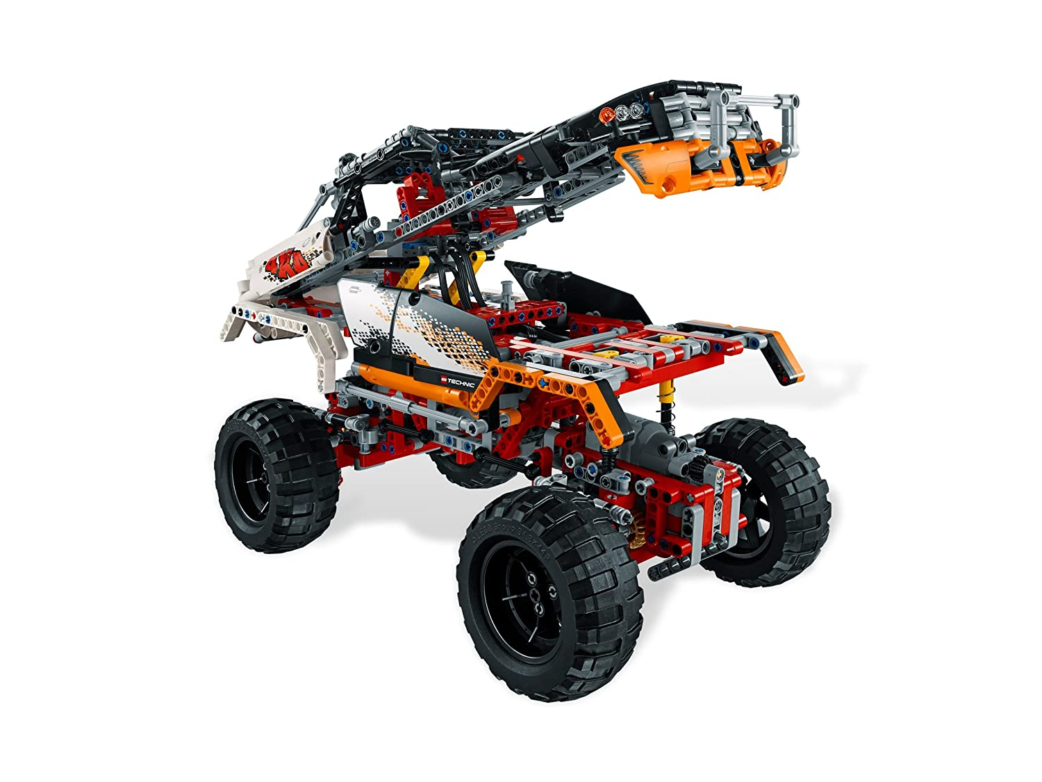 new lego technic 9398 rock crawler 4x4 truck off road. Black Bedroom Furniture Sets. Home Design Ideas