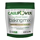 CAULIPOWER Cauliflower-Based Baking Mix, Original, 12 oz, All-Purpose Vegetable-Based Flour, Gluten Free, Vegan, Non-GMO