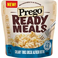 6-Pack Prego Ready Meals Creamy Three Cheese Alfredo Rotini (9 Ounce)