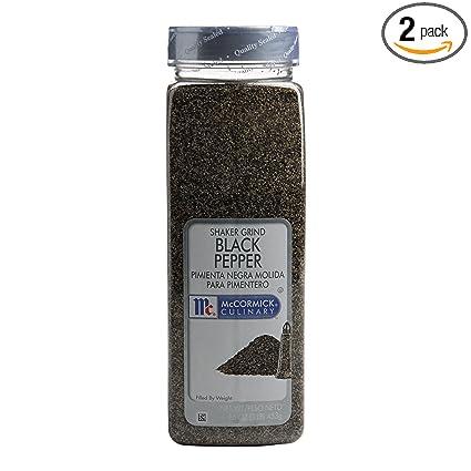 Ground Black Pepper Shaker Mccormick Black Pepper Shaker