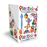 Kahootz 1251 Plasticine-12 Units of 9 Color Play Pack Toy (Pack of 12)
