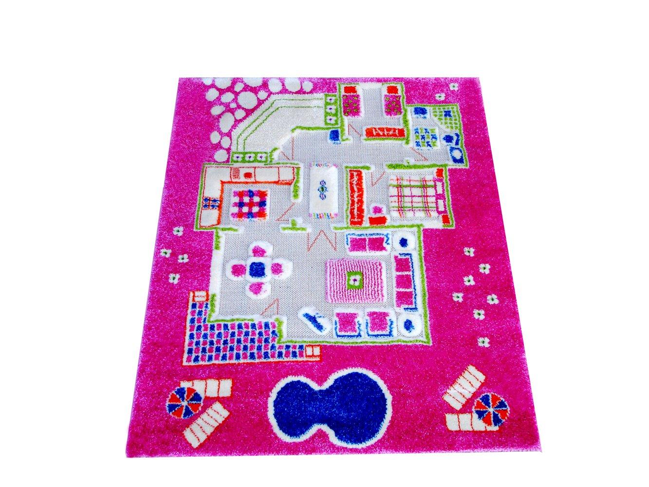 F176933f little helper ivi tapis de jeu pour enfants epais for Jeu d architecture 3d