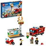 LEGO City Burger Bar Fire Rescue 60214 Building Kit (327 Piece) (Color: Multi)