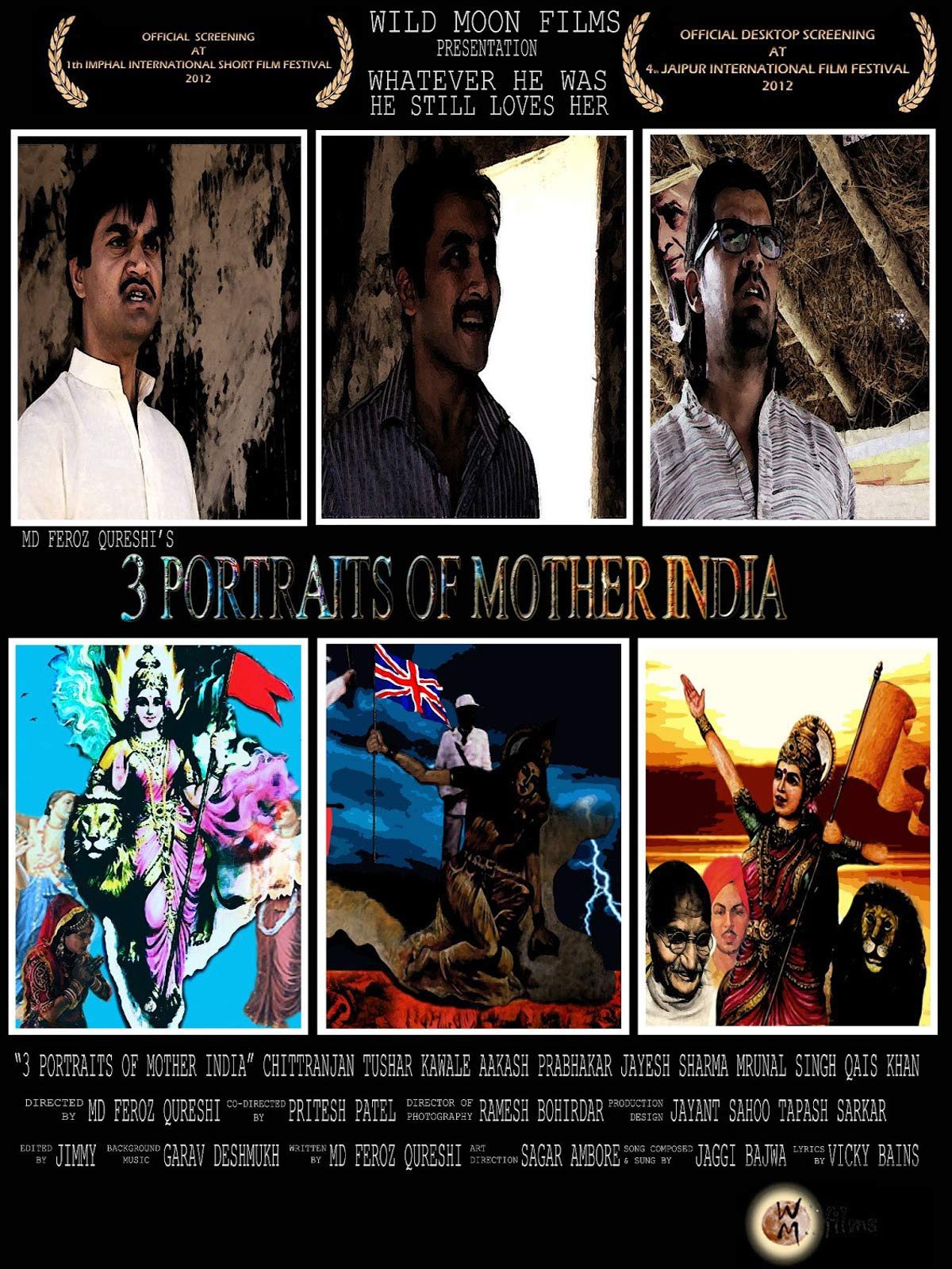 3 Portraits of Mother India