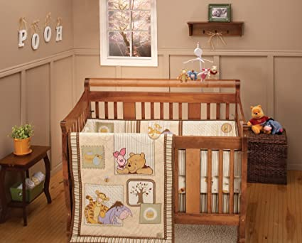 Kidsline Winnie The Pooh Together Time Baby Bedding