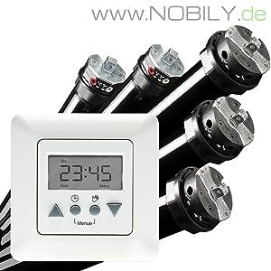 NOBILY *** PROFISET / Maxi  Rolladenmotor Rohrmotor Rolladenantrieb P5 20/1560 (Zugkraft 50kg) + Vestamatic Time Control Zeitschaltuhr EAN 4260355821026  BaumarktKundenberichte und weitere Informationen
