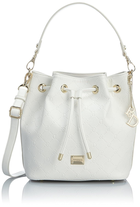 Amazon.co.jp: [ピンキーアンドダイアン] Pinky&Dianne サフィアーノエンボス 巾着型2WAYショルダーバッグ PDLHDJS1 00 (ホワイト): シューズ&バッグ:通販
