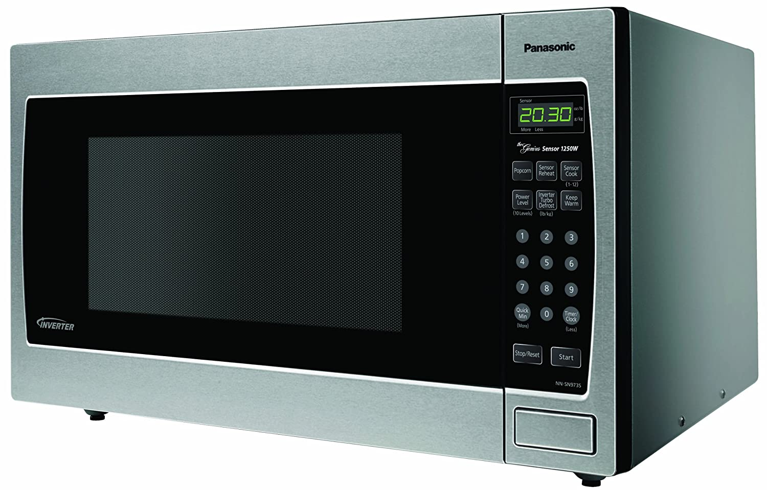 microwave oven with inverter technology for true variable microwave ...