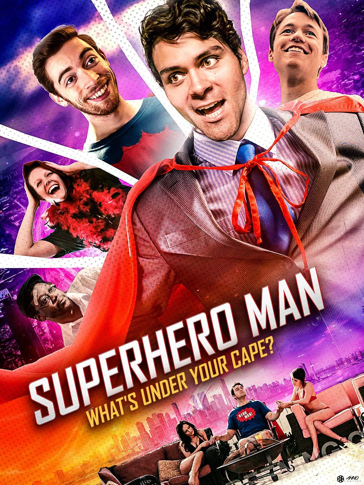Superhero Man on Amazon Prime Video UK
