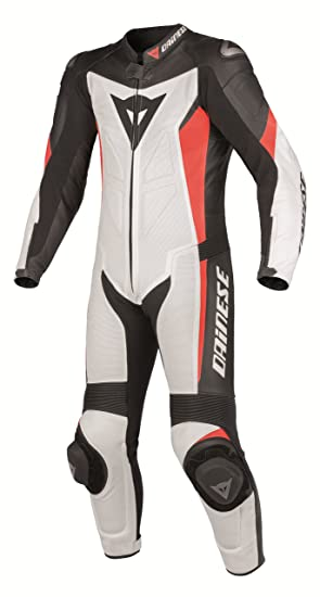 Dainese Crono P Estiva moto costume blanc/noir/gris