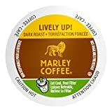 Marley Coffee Single Serve Coffee Capsules, Lively Up, 100% Arabica Coffee, 24 Count (Color: A1399, Tamaño: 24 Count)