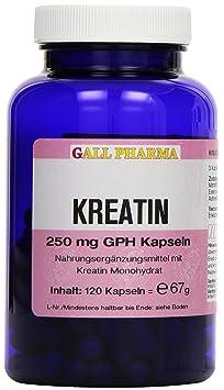Gall Pharma Kreatin 250 mg GPH Kapseln, 1er Pack (1 x 67 g)