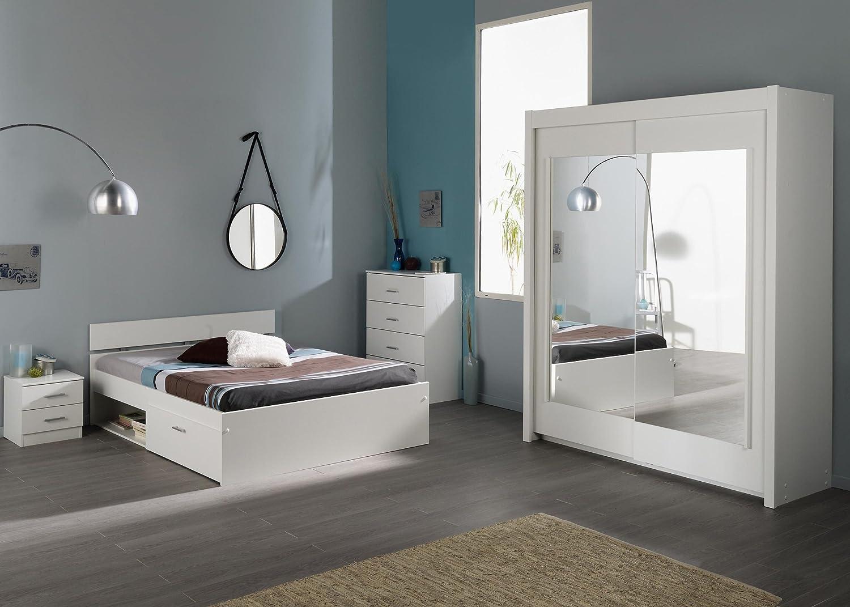 Jumbo-Möbel Schlafzimmer INFINITY 112 in Weiß jetzt bestellen