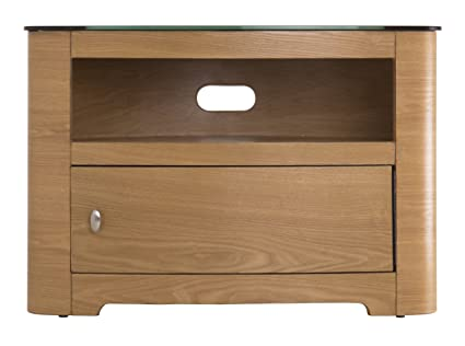 AVF FS800BLEO-A Blenheim TV Stand with Single Cabinet Door - 800 - Oak
