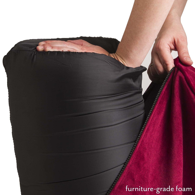 Liberator Bedroom Furniture Buy Liberator Flip Ramp Black Microfiber Online At Low Prices In