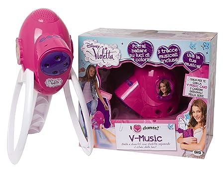Violetta - 5185 - Jeu Electronique - V Console Music - Sons & Lumières