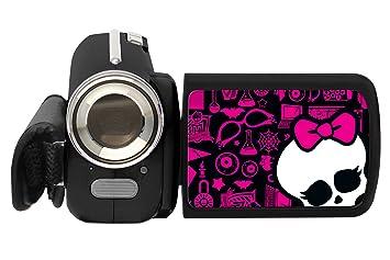Lexibook  DJ280MH - Jeu Électronique - Caméscope Numérique - Monster High 12 Mégapixels, avec Cadres Pré-Installés et Écran LCD 4,5 cm