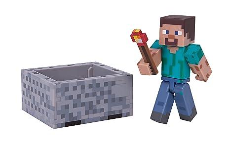 Minecraft 16480 - Figurine avec Accessoires - Steve Pack