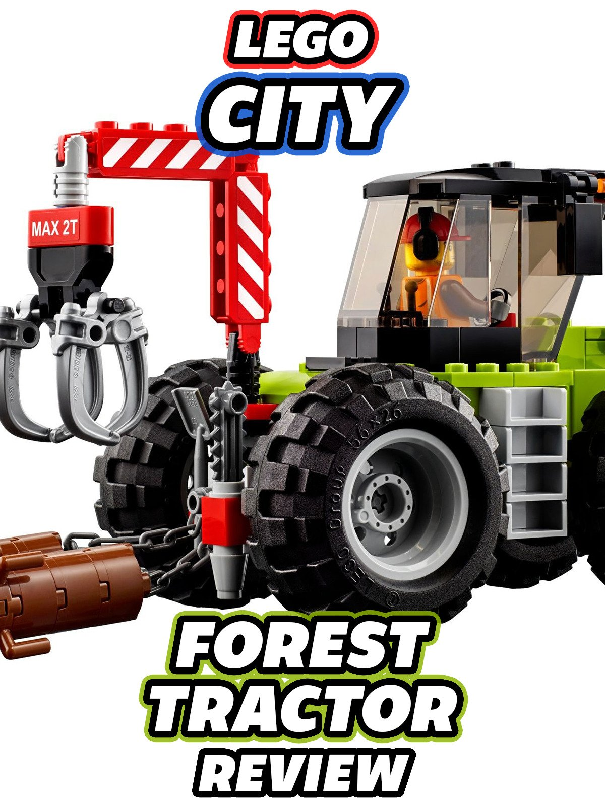 Review: Lego City Forest Tractor Review