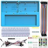 UNIROI Breadboard Kit with Arduino Raspberry Pi Breadboard Holder, 14 in 1 RAB Holder Kit for Arduino UNO R3, Arduino Mega 2560, Raspberry Pi 3B+, 3B, 2B, 1B+ Zero W, and Breadboard (RAB Holder Kit) (Color: RAB Holder Kit)