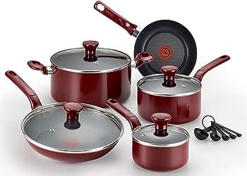 T-fal C912SE Excite 14-Pc. Nonstick Cookware Set