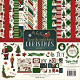 Echo Park Paper Company Night Before Christmas Collection Kit Vol. 1 (Color: Red, Green, Cream, Tamaño: ?n? ???k)
