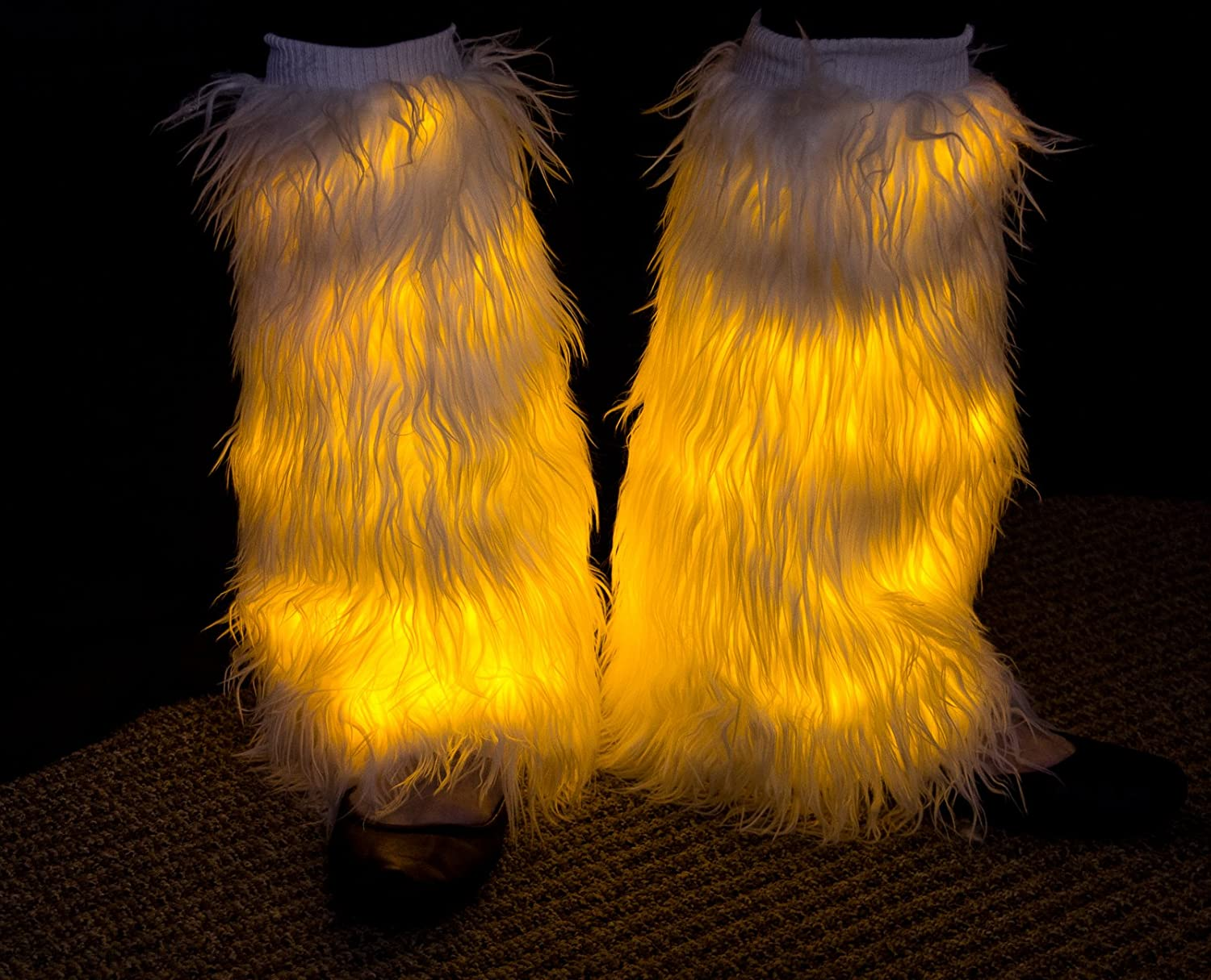 rave fiery yellow fluffies