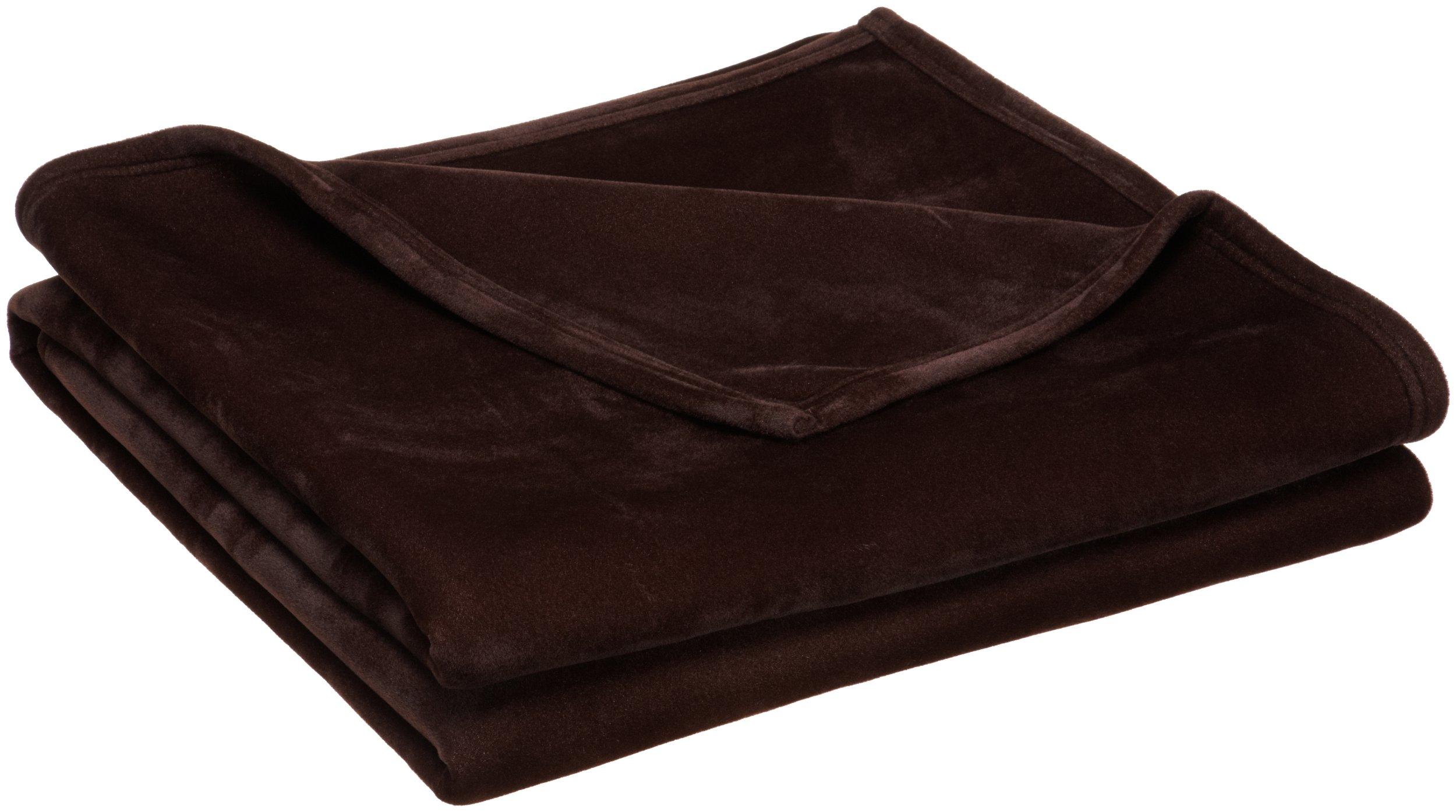 Vellux original warm soft plush blanket throw for Vellux blanket