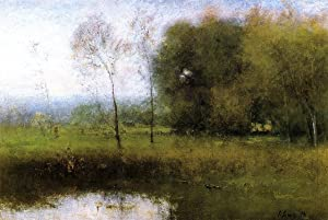 Summer, Montclair also known as New Jersey Landscape by George Inness