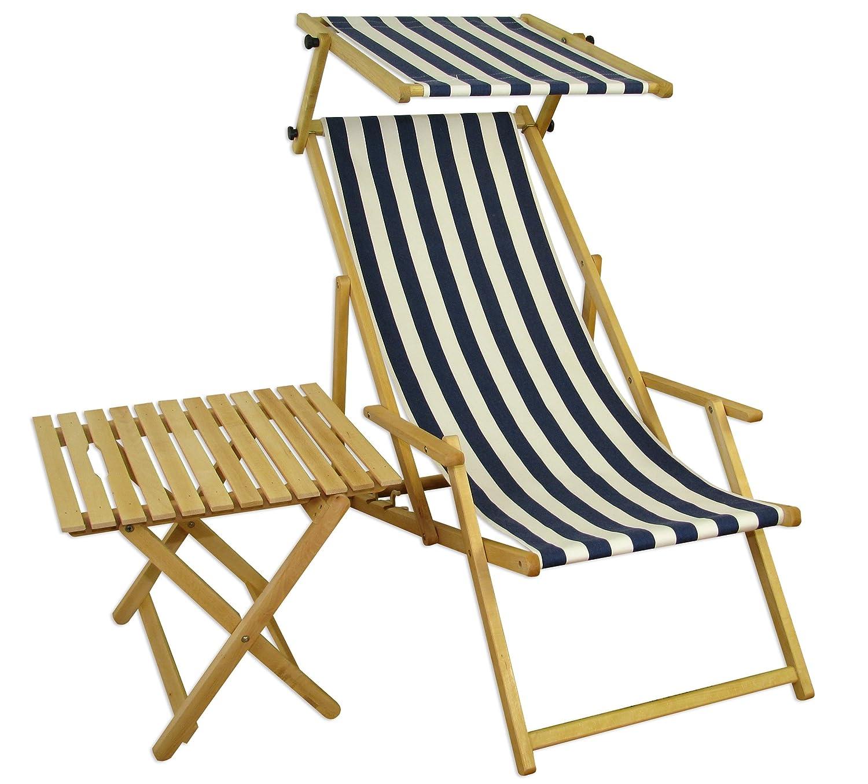 sonnenliege gartenliege deckchair saunaliege mit dach tisch g nstig. Black Bedroom Furniture Sets. Home Design Ideas